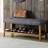 Warwickshire Wood Storage Bench