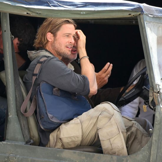 Brad Pitt Pictures Filming World War Z in Valletta, Malta