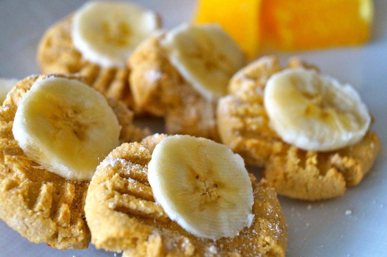 Dessert: Tahini-Orange Cookies