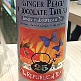 Republic of Tea Ginger Peach Chocolate Truffle ($12)