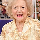 Betty White was all smiles at The Lorax premiere.