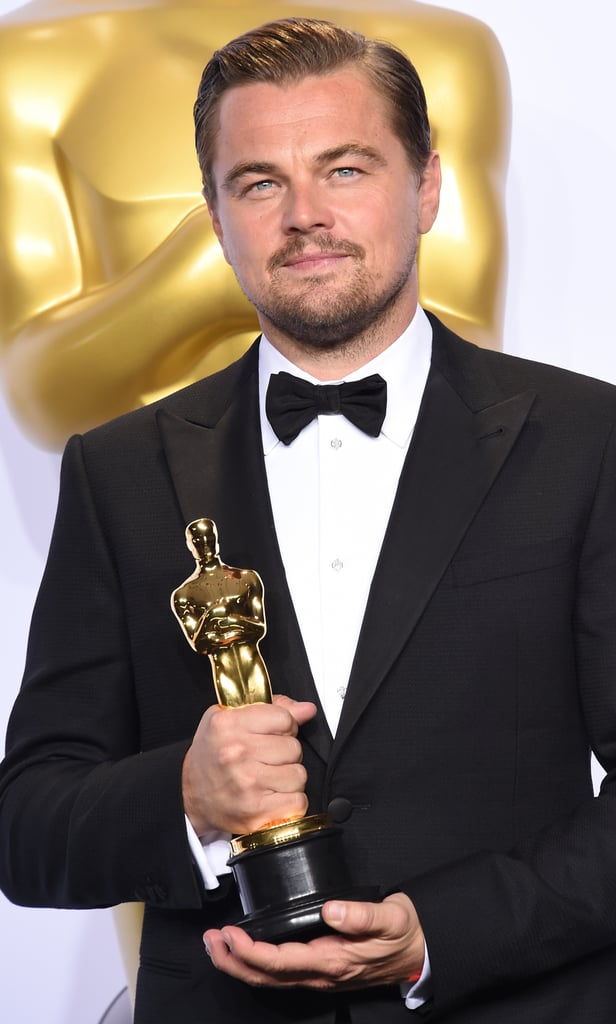 Leonardo DiCaprio's Very First, Very Well-Deserved Oscar Win