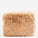 Topshop Teddy Faux Fur Purse