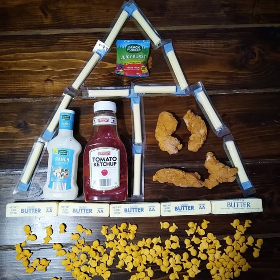 Mom's Updated Food Pyramid of Foods Kids Would Actually Eat
