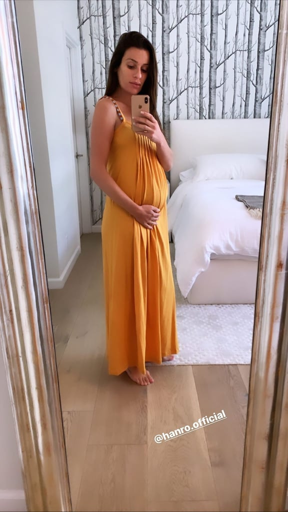 See Lea Michele's Beautiful Pregnancy Pictures