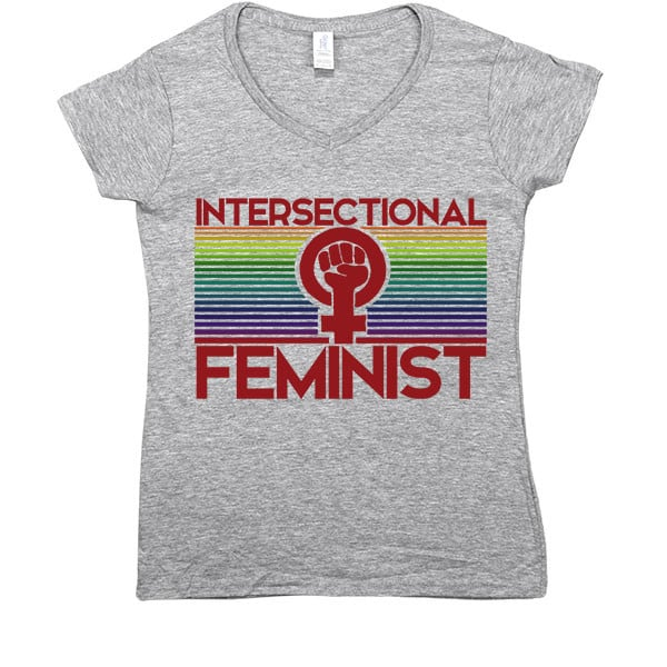 Intersectional Feminist Fist T-Shirt ($30)