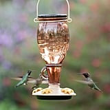 Perky-Pet Sugar Maple Decorative Glass Hummingbird Feeder