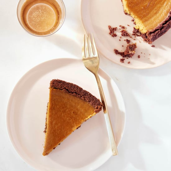 Chocolate-Crusted Pumpkin Pie Recipe