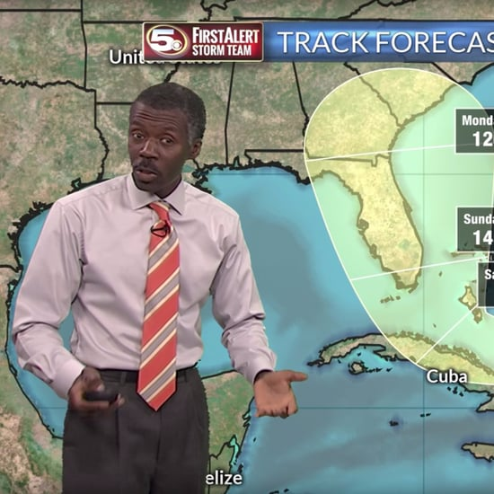 Best Weatherman Ever Alan Sealls Covers Hurricane Irma