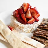 Balsamic-Glazed Strawberries and Brie Appetizer
