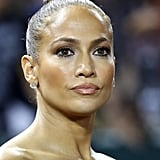 Jennifer Lopez With a Ballerina Bun
