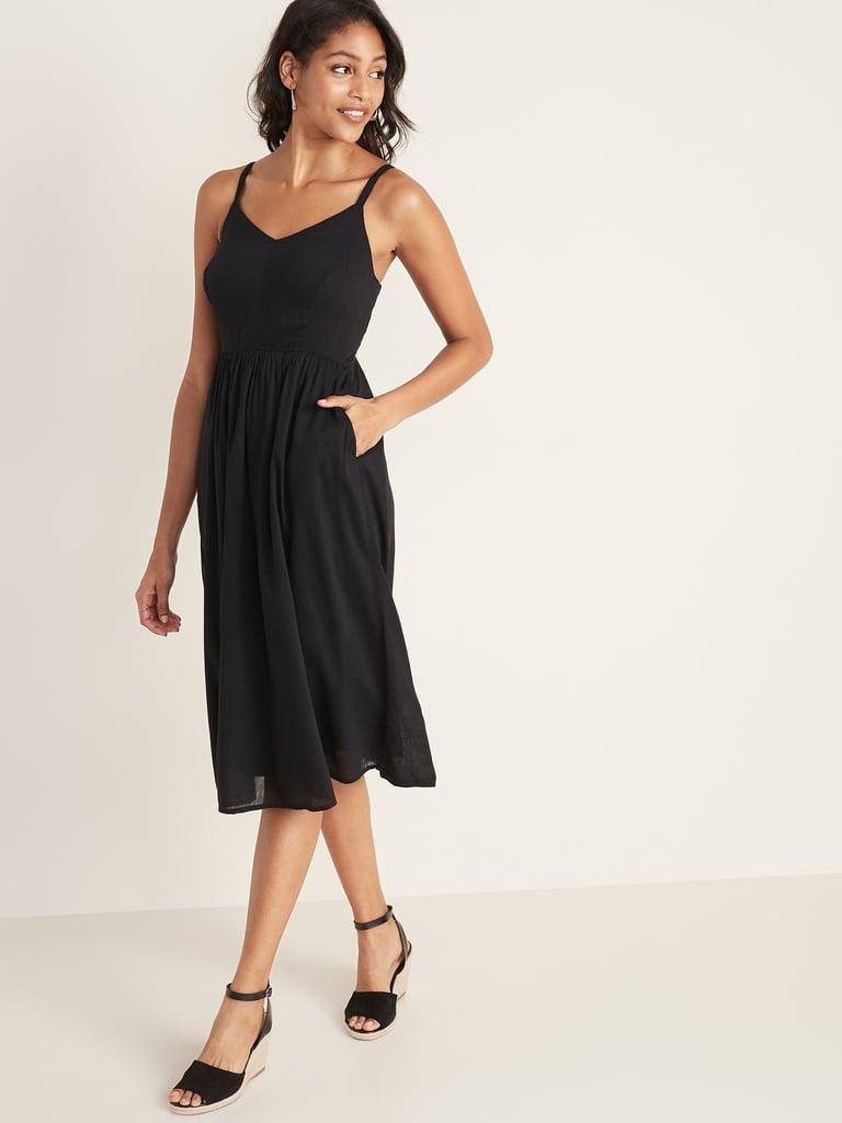 Fit & Flare Cami Midi Dress