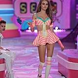 Cara Delevingne at the 2012 Victoria's Secret Fashion Show
