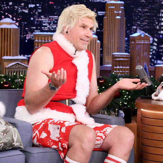 Will Ferrell Dresses as Badass Santa Claus