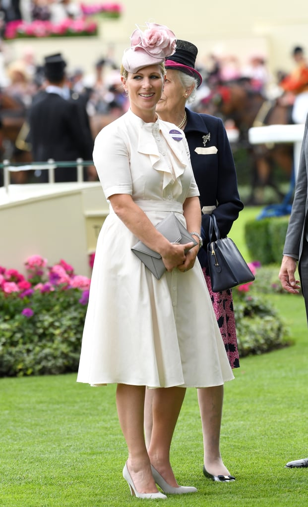 She Wears Summer-Appropriate Knee-Length Dresses For the Royal Ascot