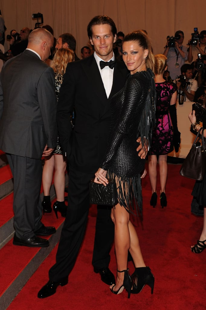 Pictures of Gisele Bundchen and Tom Brady at the 2010 Met Costume Institute Gala