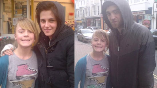 Photos of Robert Pattinson and Kristen Stewart Together in London