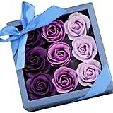Decorative Lavender Scented Rose Soap Gift Set