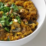 Mushroom Pilaf Recipe to Help Debloat