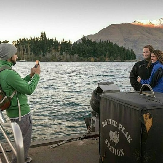 Dubai's Sheikh Hamdan Takes Picture of Vacation Couple