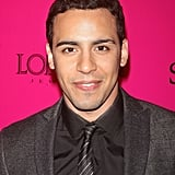Victor Rasuk in a striped tie.