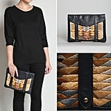 Lizzie Fortunato Embroidered iPad Clutch