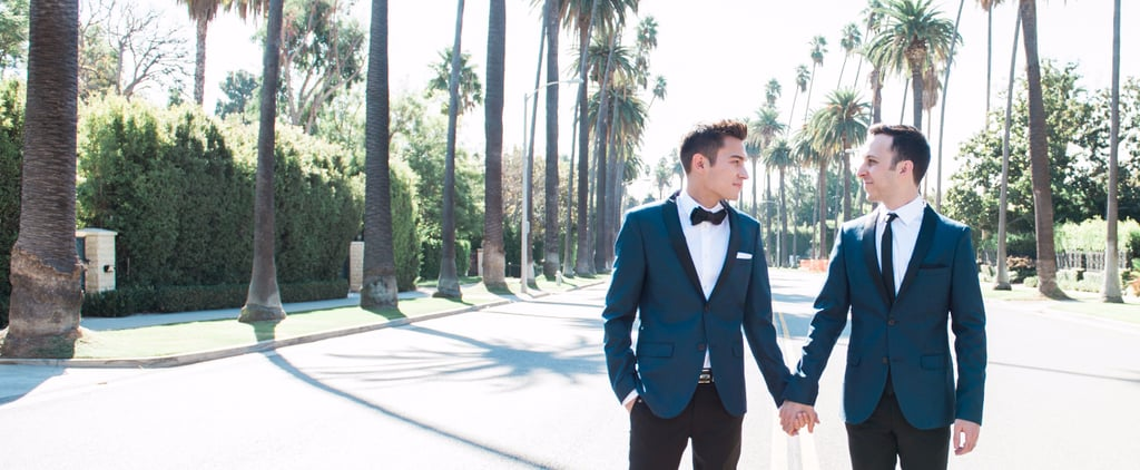 Intimate and Sweet Describes This Restaurant Wedding in Beverly Hills