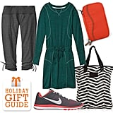 Do you have a fashionable friend who always carefully plans out her gym outfits? Then look no further than Fit's stylish gift guide. They've rounded up luxe items made for working out in (or for throwing on afterward).