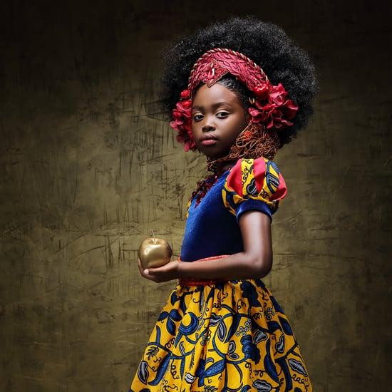 Photo Shoot Features Black Girls as Disney Princesses