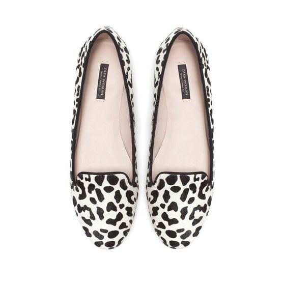At this point, we've basically adopted leopard print as a neutral. The pattern goes with just about anything — be it mixed prints, denim, or our favorite little dresses. We love that this Zara slipper ($90) is a cool white-and-black iteration that'll lend a chic (and comfortable!) finish to our everyday look.