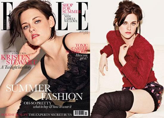 Photos of Kristen Stewart in Elle UK Magazine