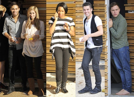 Photos of X Factor Contestants Danyl, Stacey, Joe, Olly, Rachel at Their House