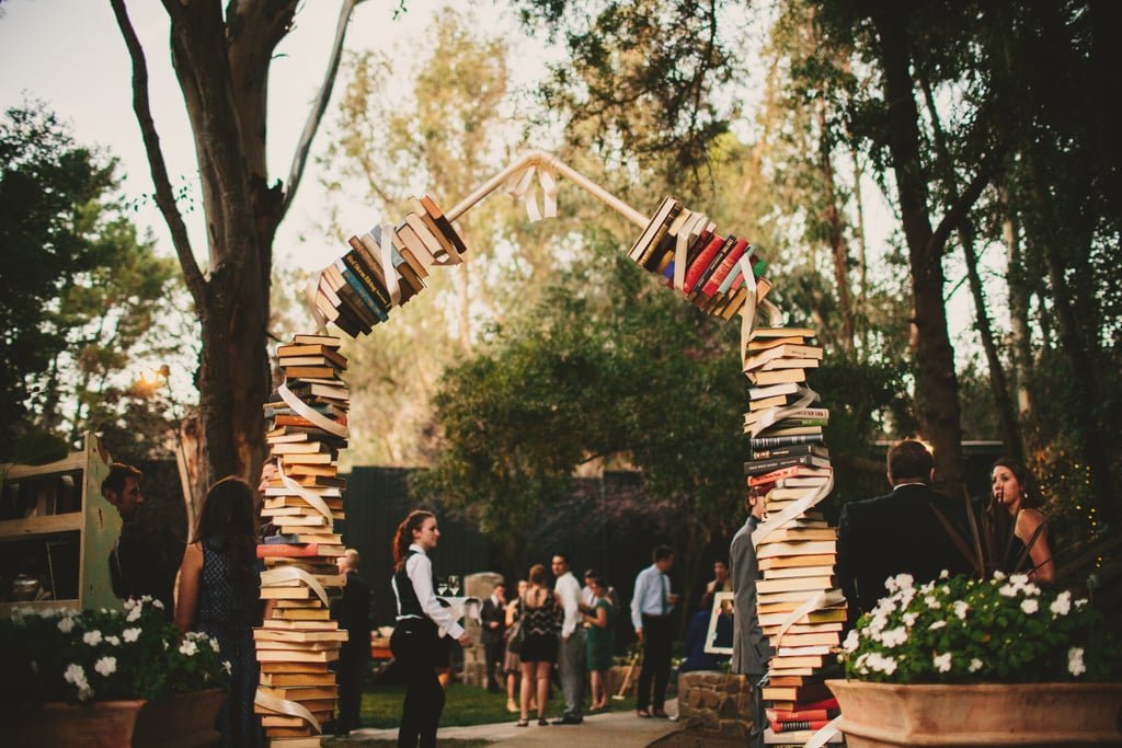 Book-Themed Wedding