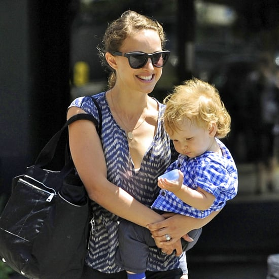Natalie Portman Carries Aleph Millepied Pictures