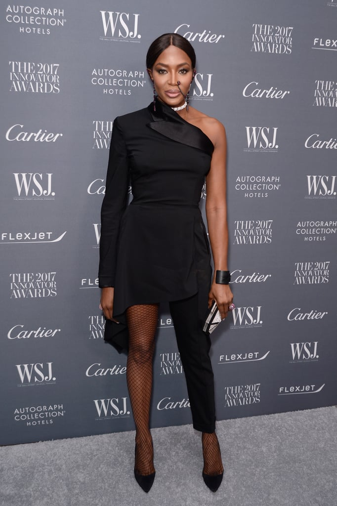 Naomi Campbell's Jean Paul Gaultier Jumpsuit 2017