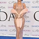 Rihanna in Adam Selman at the CFDA Awards