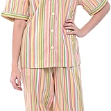 Alexander Del Rossa Lightweight Button Down Pajama Set
