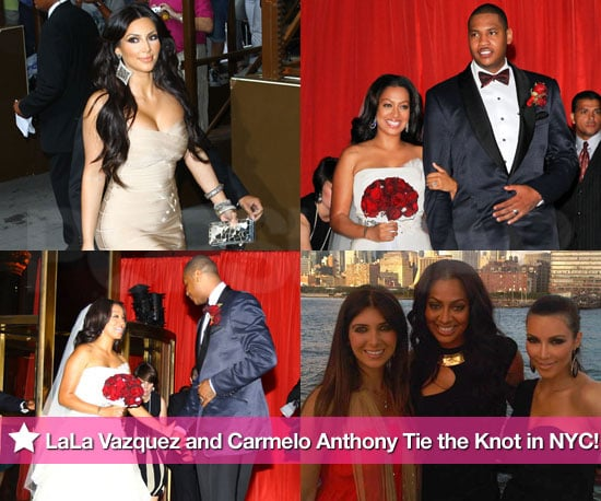 Pictures From LaLa Vazquezs Wedding To Carmelo Anthony