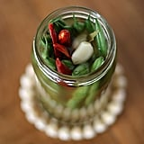 Vegetarian Appetizers: Spicy Pickled Green Beans