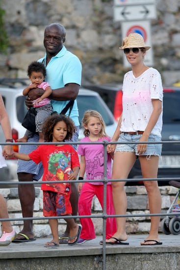 Heidi Klum and Seal continue their vacation with their children in Italy