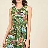 Land Before Sublime A-Line Dress in Dinos in 1X