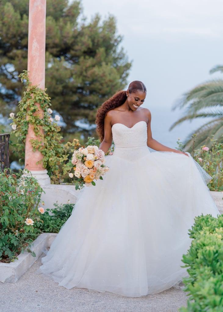 Issa Rae's First Vera Wang Haute Wedding Dress