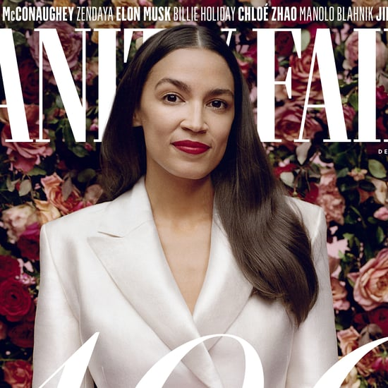 Alexandria Ocasio-Cortez On Beauty & Lipstick in Vanity Fair