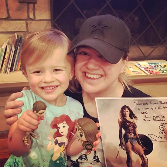 Gal Gadot's Wonder Woman Gift to Kelly Clarkson's Daughter