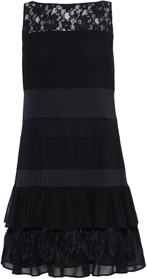 69277aabdafa Coast Calista Feather Dress (£150) | Best Little Black Party Dresses ...