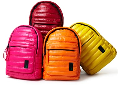 Puffer Backpack Cushions Your Child and Their Books!