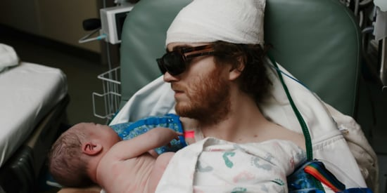 Dad With Cancer Travels From ICU To Delivery Room For Son's Birth