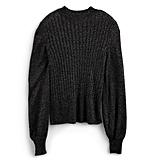 POPSUGAR Collection at Kohl's Lurex Mockneck Sweater