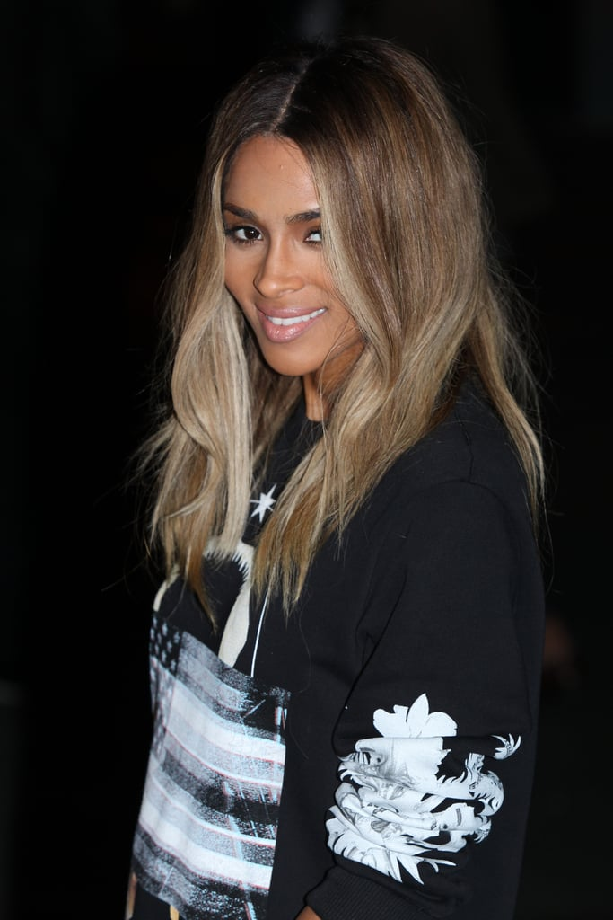 Ciara at Givenchy Spring 2014.