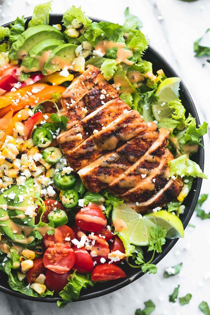 Fiesta Lime Grilled Chicken Salad